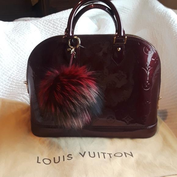 fedff5d86736 Louis Vuitton Handbags - Authentic Louis Vuitton Alma PM  Rouge Fauviste